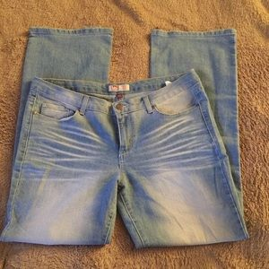 l.e.i Low Rise Jeans Juniors Size 17